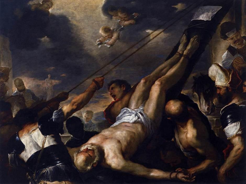 Crucificação de São Pedro sob Nero